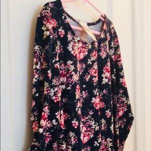 2 for $15 🏖 NWOT Jenna&Jessie Floral Dress